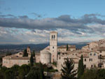 Assisi in Umbrien, Italien