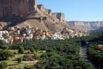 Landschaft in Jemen
