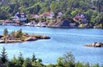 Urlaub im Fjord in Norwegen