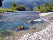 Am Ufer der Ybbs in Niederösterreich