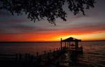 Sonnenuntergang in Panama