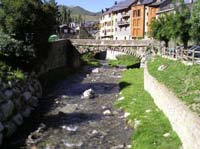 Aragon Flusslandschaft