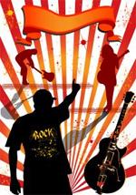 Rock-Konzert-Veranstaltungen