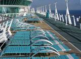 Kreuzfahrtschiff Sonnendeck