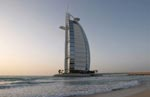 Luxus Hotel Burj Al Arab in Dubai