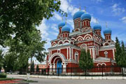 Borisov-Kirche, Urlaub in Minsk