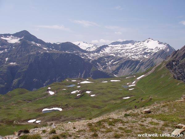 Aussicht/Ausblick vom Mont Blanc