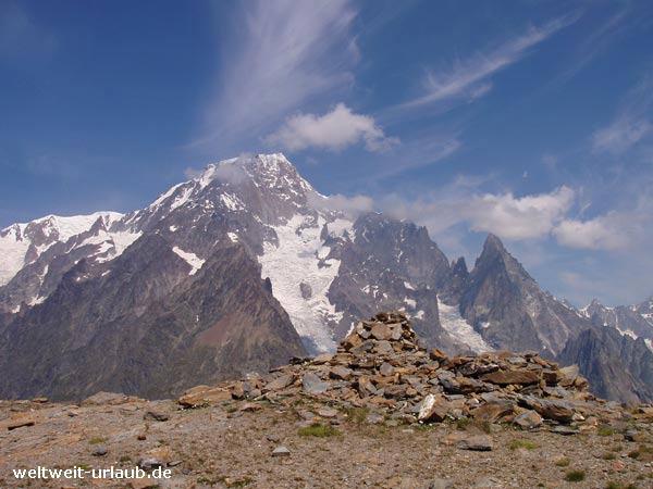 Mont Blanc Gebirge