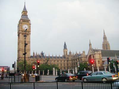 London, Big Ben Infothek