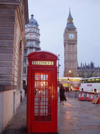 Telefonzelle Big Ben London