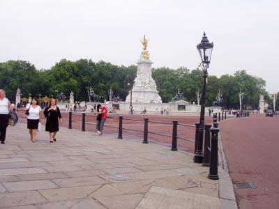 London, Buckingham Palace Infothek