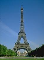 Urlaub in Paris: Blick auf den Eiffelturm