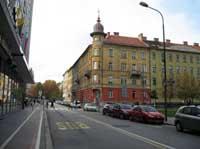 Strasse in Slowenien