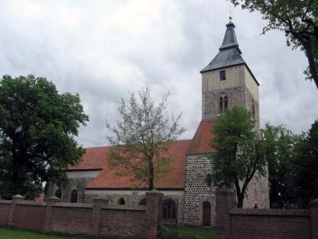 Stadtkirche - Seitenansicht