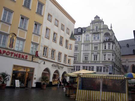 Altstadt mit ihren Arkaden