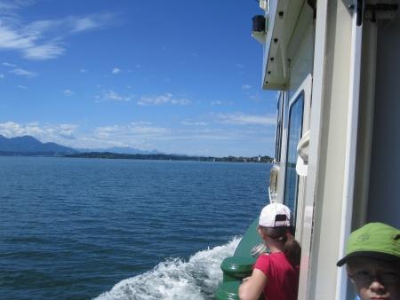Fahrt zur Fraueninsel