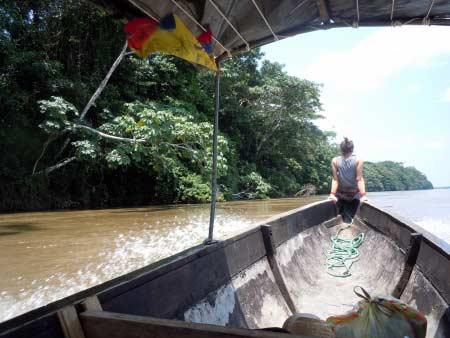 zwischen Ecuador und Peru