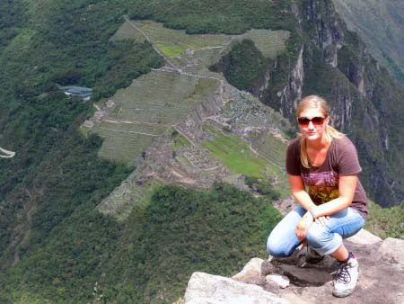 Aussicht Wayna Picchu
