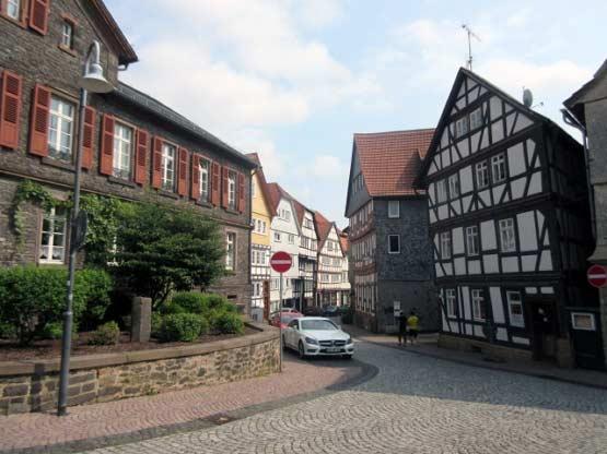 Alsberg, Hessen - Amtshof am Kirchplatz