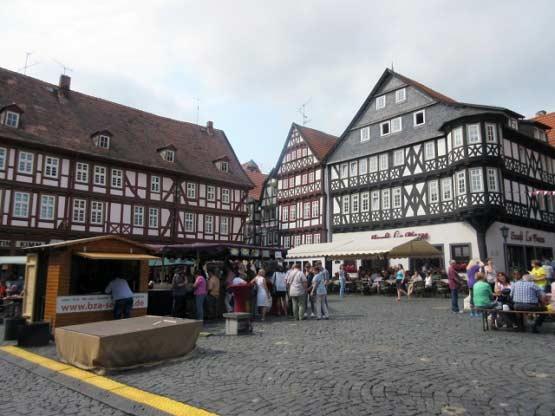 Ein mittelalterlicher Markt