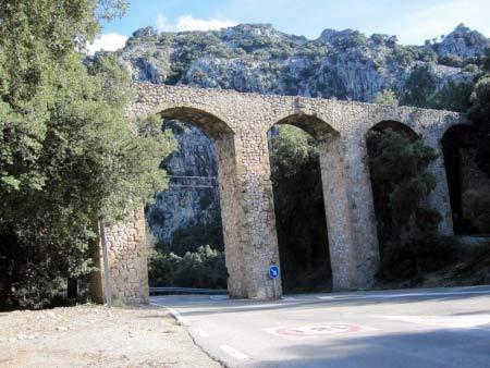 Aquädukt Wasserleitung Mallorca