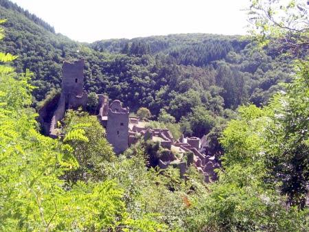 Ausblick Burg Manderscheid