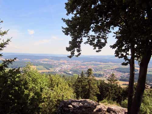Aussicht auf Burgkunstadt