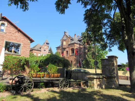 Am Rande des Kurparks in Bad Bergzabern