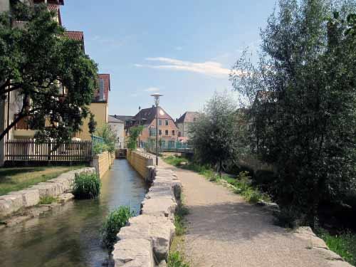 Uferweg am Lauterbach