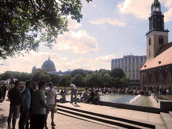 Marienkirche und Berliner Dom