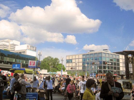 U-Bahn Alexanderplatz Berlin