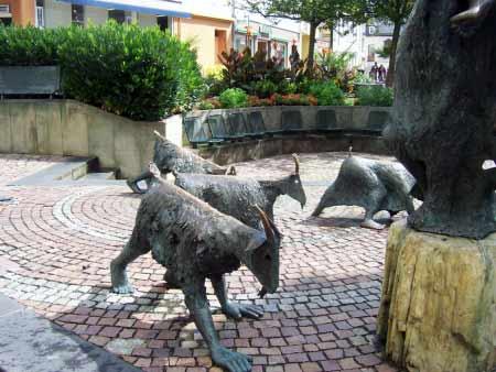 Bitburg Ziegen-Statue