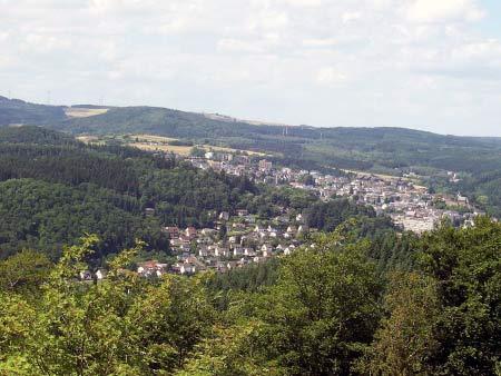 Blick auf Daun Eifel