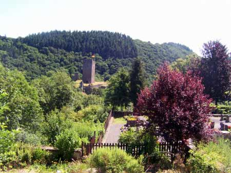 Blick auf Oberburg
