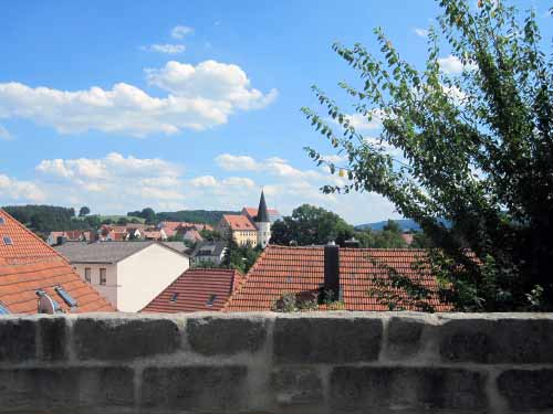 Burgkunstadt - Über den Dächern
