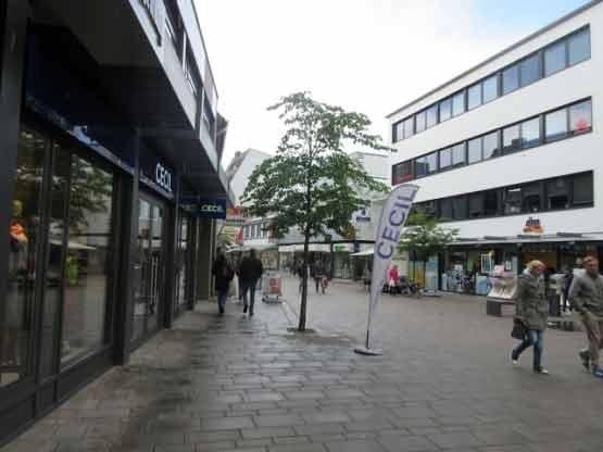 Fußgängerzone Lange Straße