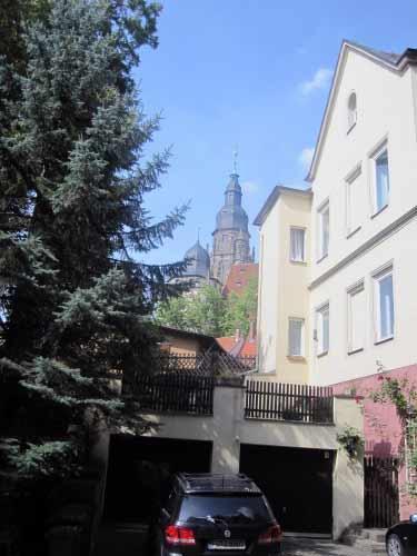 Die Moritzkirche rückt näher