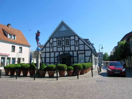 Markantes Fachwerkhaus in Damme