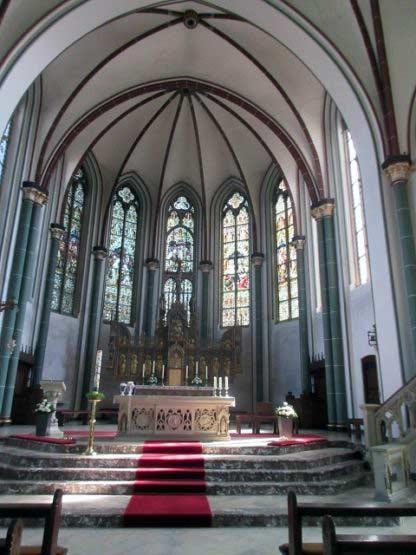 Ein wunderbarer Altarraum