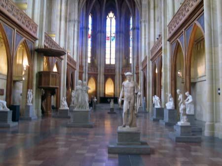Der Innenraum der Galerie