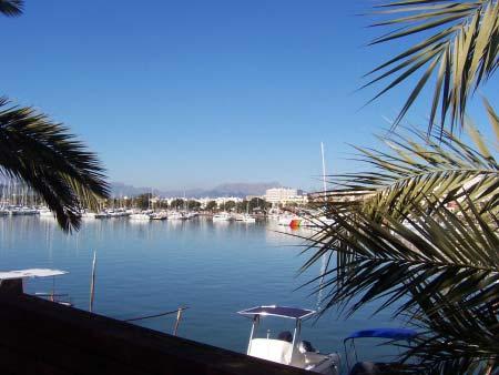 Der Segelhafen in Port d'Alcudia