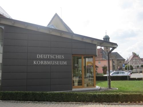 Deutsches Korbmuseum, Vorbau