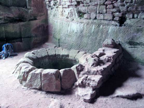 Vermeintlicher Brunnenschacht