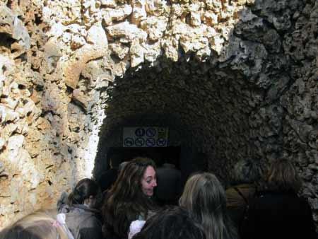 Eingang Cuevas del Drach