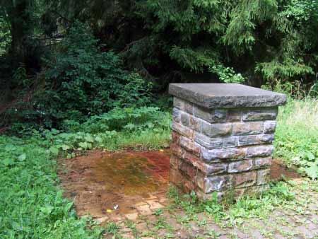 Eisen Mineralwasser Quelle