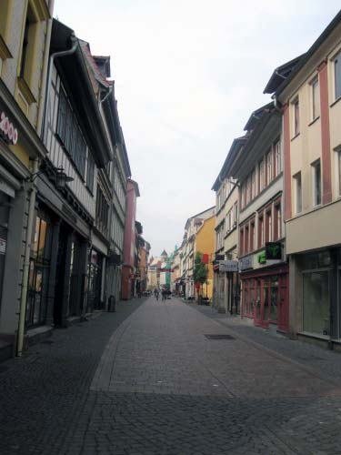 Altstadt Straßencafés