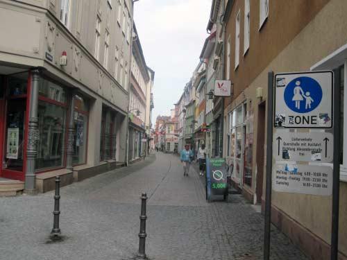 Fußgängerzone Altstadt