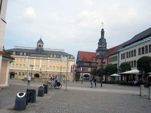 Noch ein letzter Blick über den Marktplatz