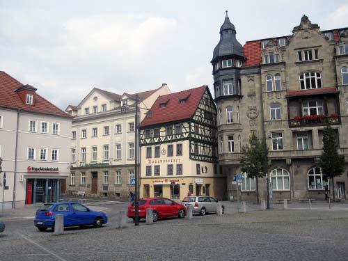 Viel Fachwerk in Eisenach