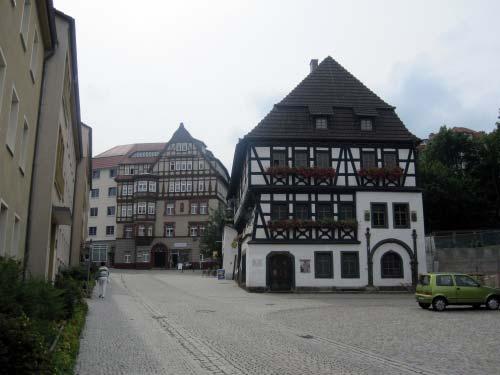 Denkmalgeschützte Fachwerkhäuser in Eisenach